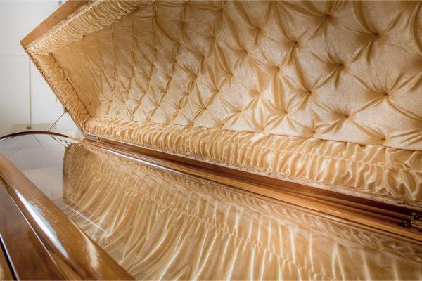 Handcrafted Dragon Casket – Interior