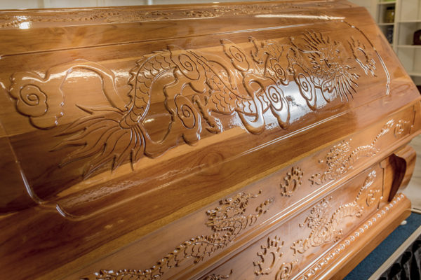 Handcrafted Dragon Casket – Details